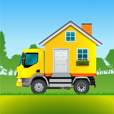 Moving truck background 1392 9